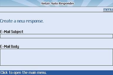 Auto-Responder