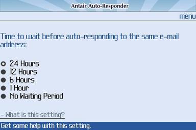 Antair E-Mail AutoResponder