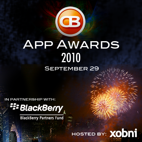 CrackBerry App Awards Party Tonight!