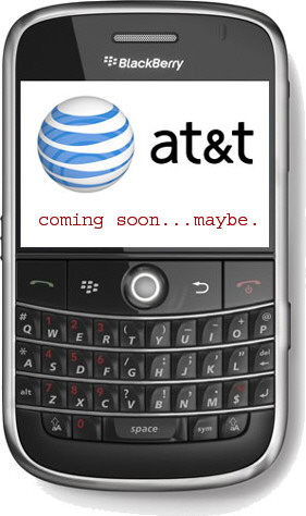 AT&T BlackBerry Bold Coming Soon...we hope