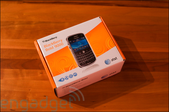 AT&T BlackBerry Bold Unboxed