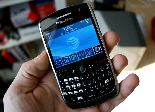AT&T BlackBerry Curve 8900 Review!