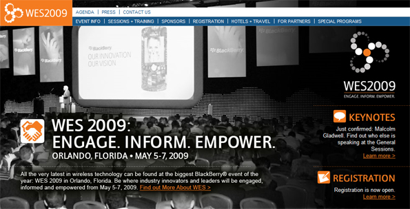 Attend WES 2009