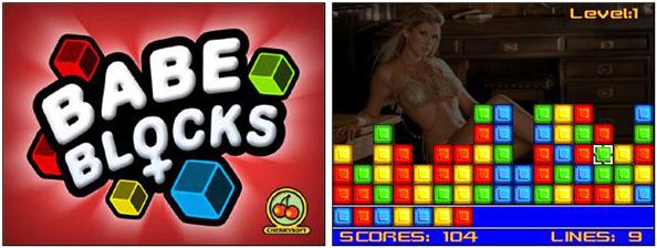 Babe Blocks for BlackBerry!