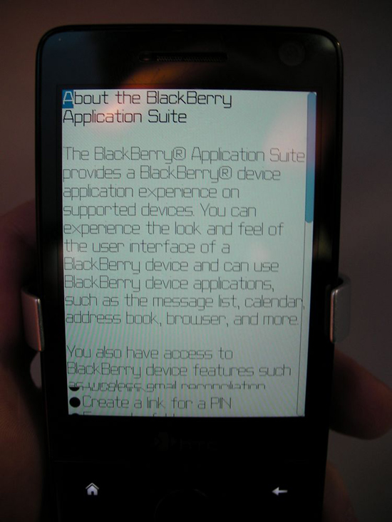 BlackBerry Application Suite