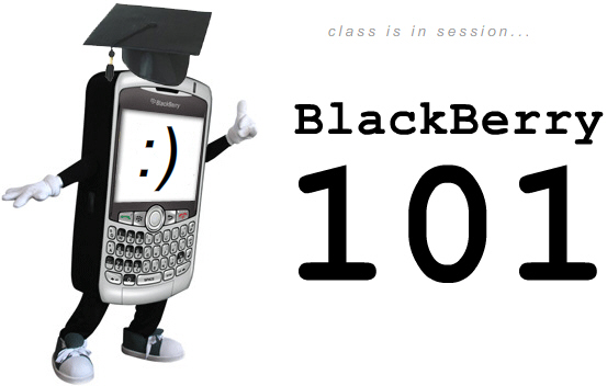 CrackBerry.com's BlackBerry 101 Lecture Series