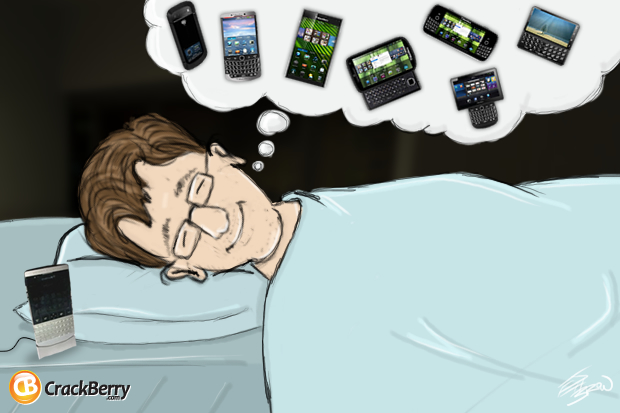 I Dream of BlackBerry 10 Phones...