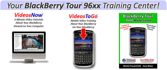 BlackBerry Tour 96xx Made Simple