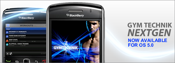 Gym Technik for BlackBerry