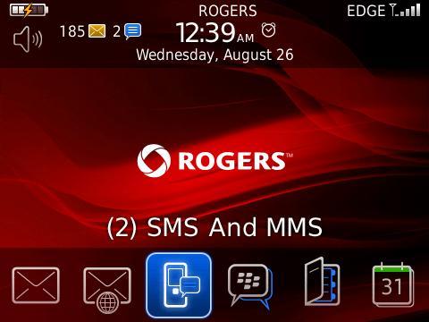 Threaded SMS for BlackBerry Smartphones