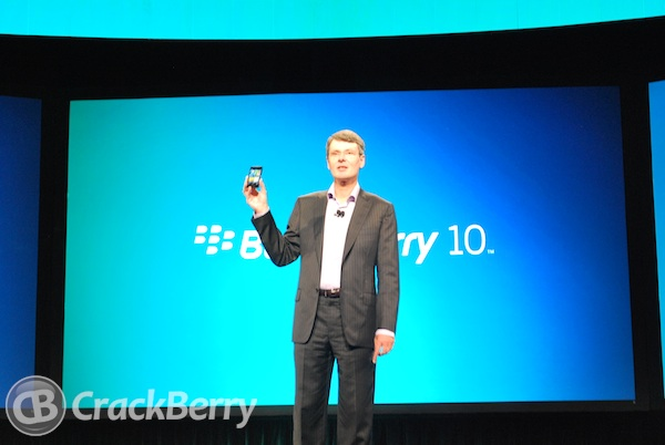 BlackBerry 10 will be available both with and without physical keyboards