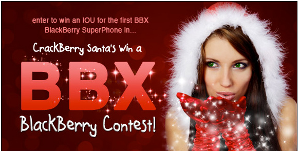 Win a BlackBerry 10 Phone!