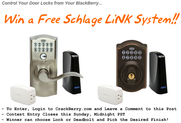 Win a Free Schlage LiNK System