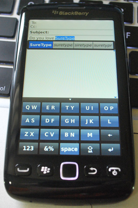 SureType/Reduced Keyboard on BlackBerry 10?