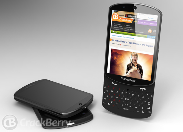 BlackBerry 10 Slider