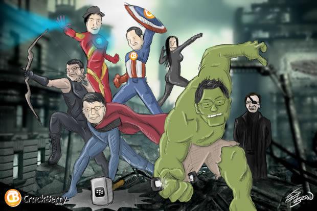 Assemble the BlackBerry Avengers!