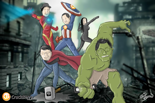 BlackBerry Avengers
