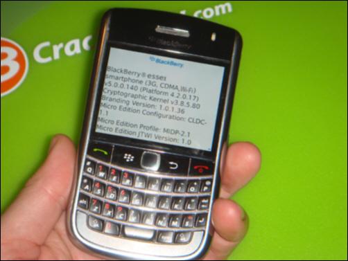 BlackBerry Essex - Next Generation of BlackBerry Tour