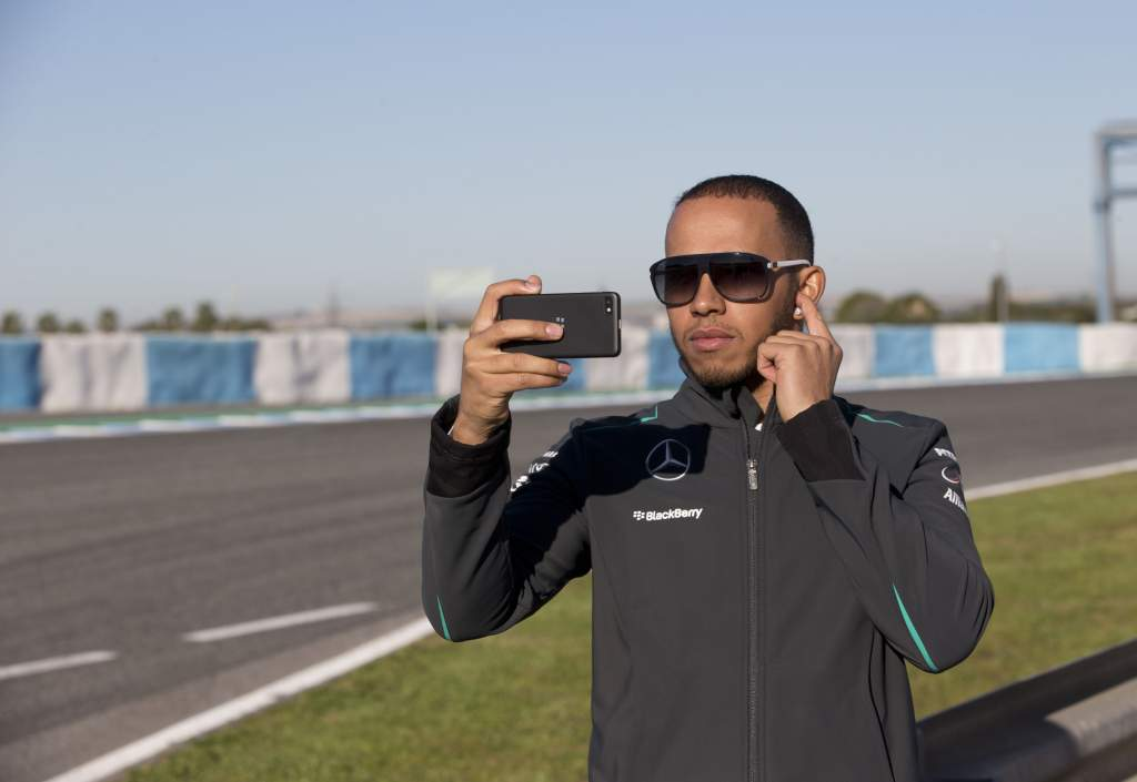 BlackBerry Mercedes F1