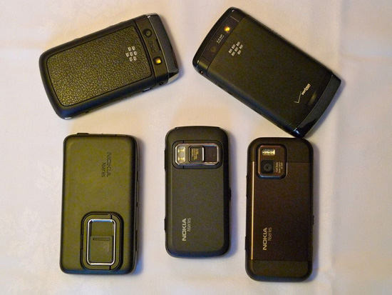 BlackBerry Smartphones and Nokias