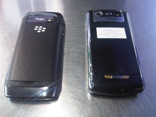 BlackBerry Pearl 8100 vs. BlackBerry Pearl 9100
