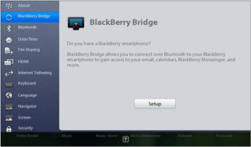 how to setup the blackberry bridge to connect the blackberry rh crackberry com BlackBerry PlayBook Review BlackBerry PlayBook Keyboard Case