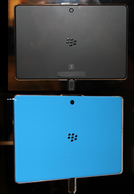 BlackBerry PlayBook Colors