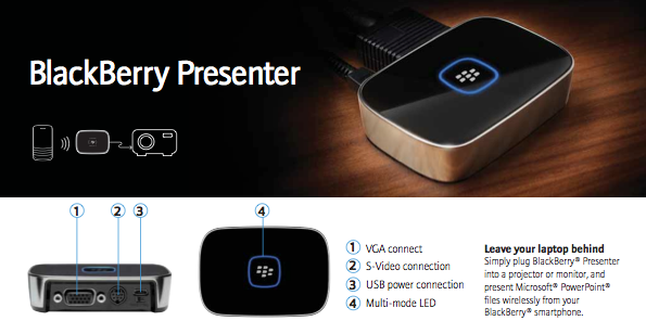 BlackBerry Presenter