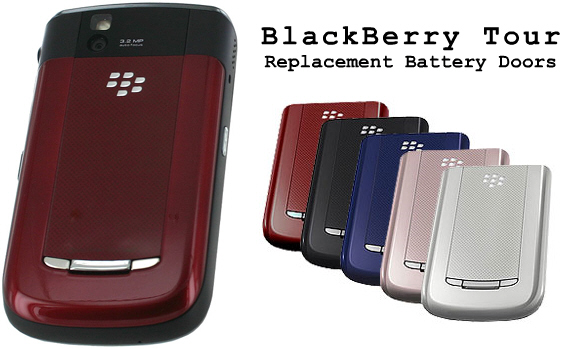 BlackBerry Tour Replacement Battery Doors