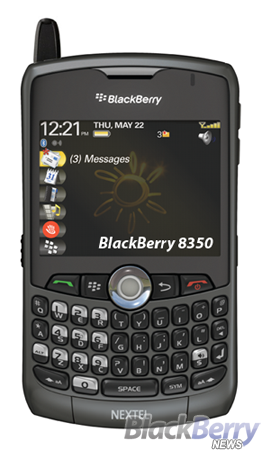 BlackBerry 8350