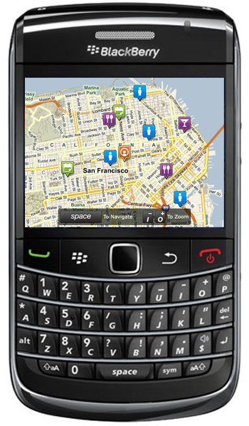 Loopt for the BlackBerry Bold 9700 and Curve 8520/8530