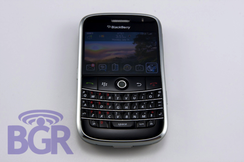 BG's BlackBerry Bold