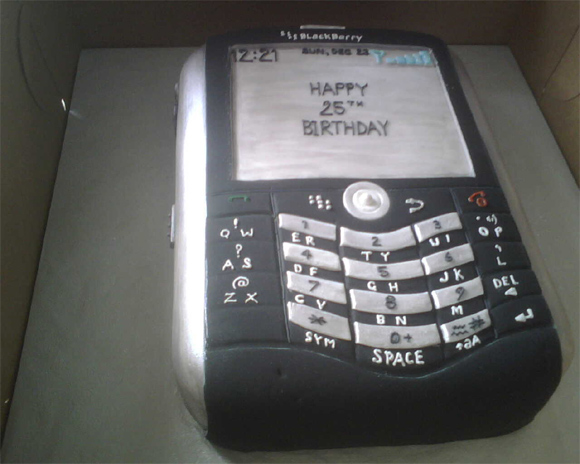 BlackBerry Cake