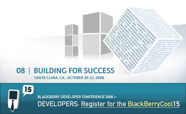 Register Now for the BlackBerryCool15!
