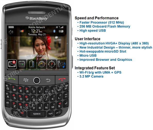 BlackBerry 9300 Javelin