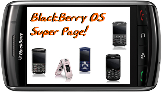 BlackBerry Operating System Super Page!