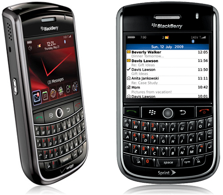 Get Started With Your BlackBerry Tour 9630