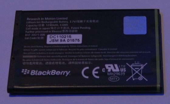 BlackBerry Bold 9900 Battery