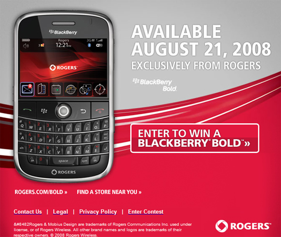 Win a Bold from Rogers!