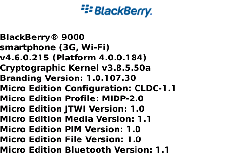 BlackBerry Bold OS Update Leaked Online!
