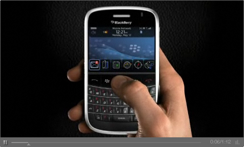 BlackBerry Bold Video