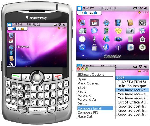 bOSX Zen Theme for BlackBerry