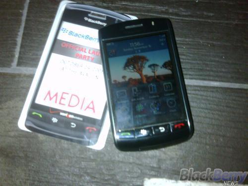 L.A. BlackBerry Storm Launch Party