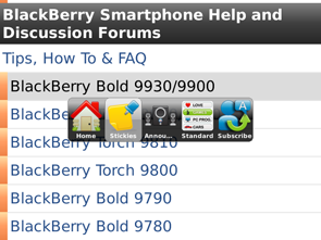 CrackBerry Forums App