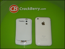ColorWare Blackberry Curve and White iPhone 3G