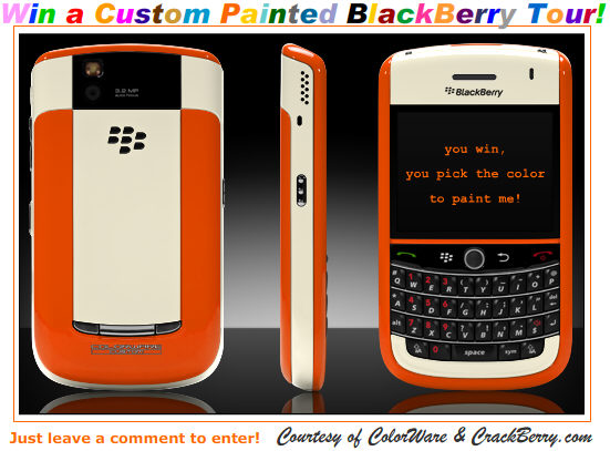 ColorWare BlackBerry Tour Contest!