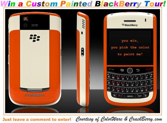 ColorWare BlackBerry Tour Contest!