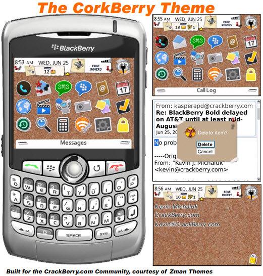 The CorkBerry Theme!
