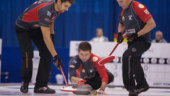 Team McEwen - CrackBerry Curling!