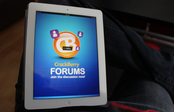 Get the CrackBerry Forums App on your Non-BlackBerry Device